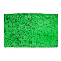 Yes-Ive-Crawled-On-Glass-Large-Wallet-Neon-Green