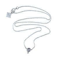 Mini Skull with Diamond Necklace