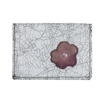 Lacrimosa Flowers Ombre Pink Victorian Lace Card Holder