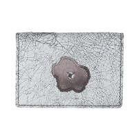 Lacrimosa Flowers Grey Victorian Lace Card Holder